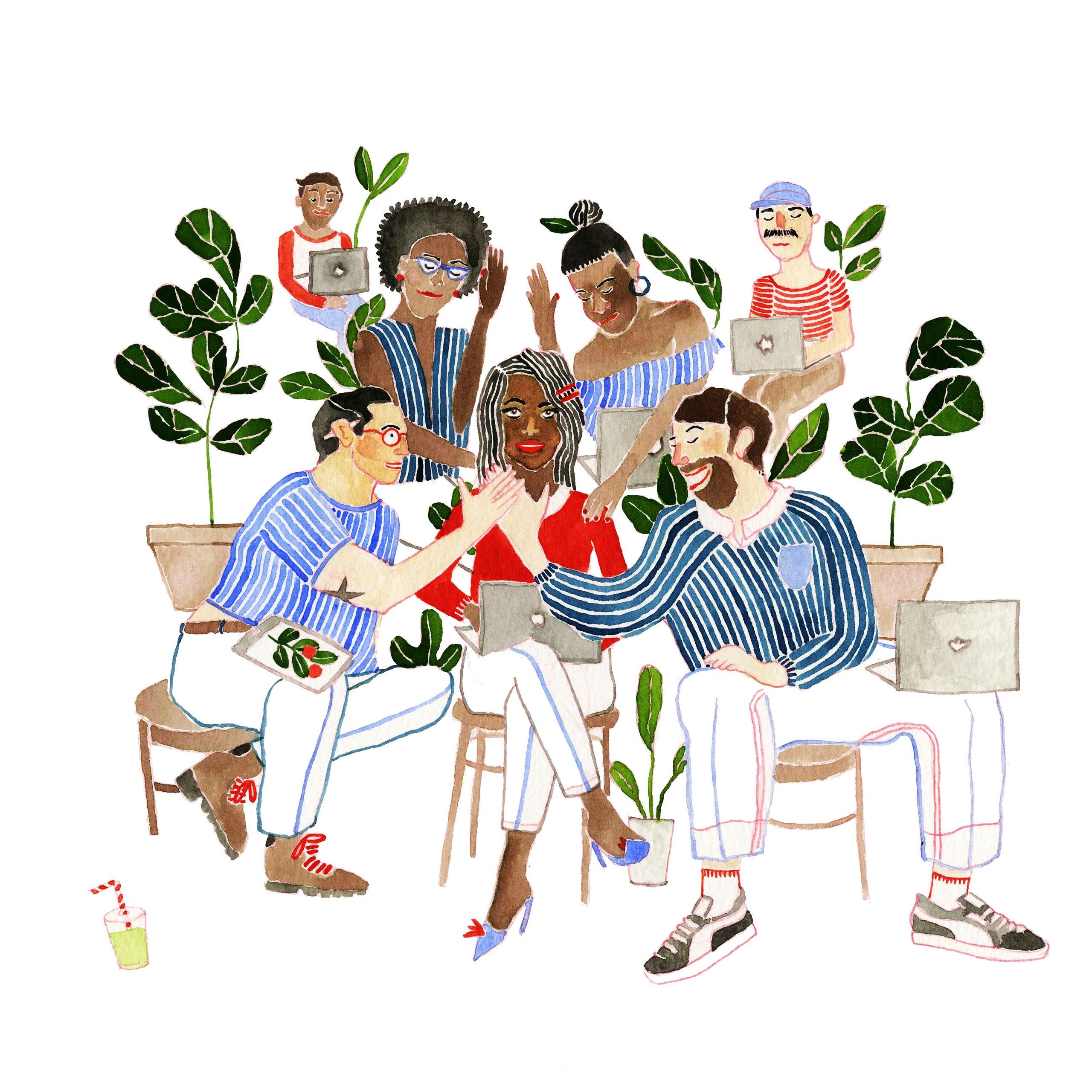 How I Found Sisterhood in an Industry With Few Women