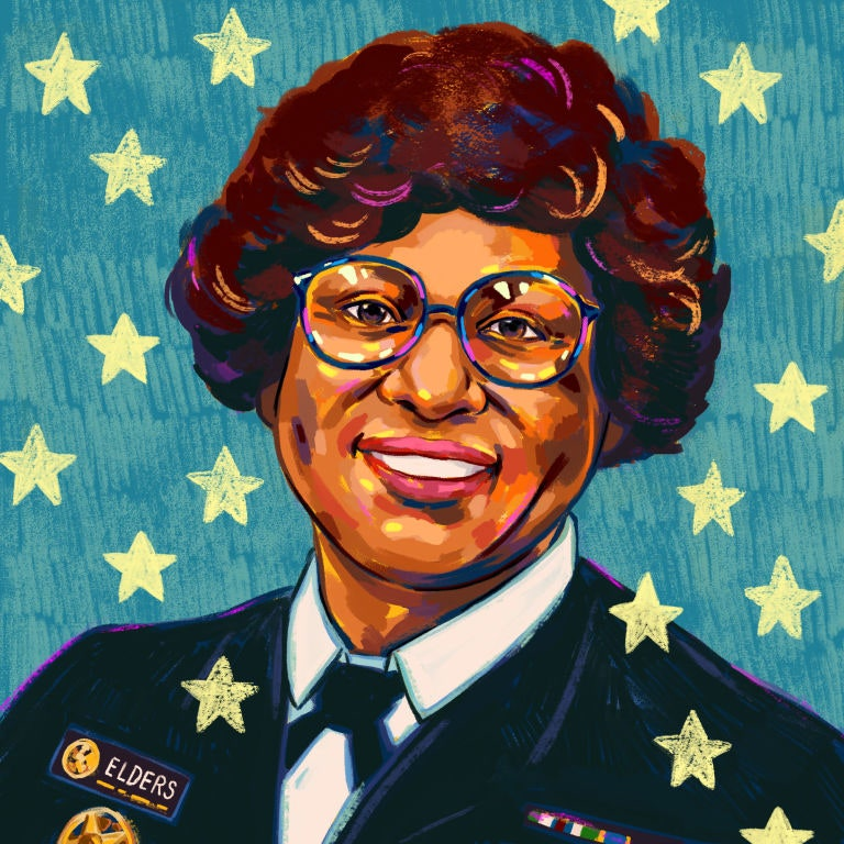 Dr. Joycelyn Elders: Health Care Is a Human-Rights Issue