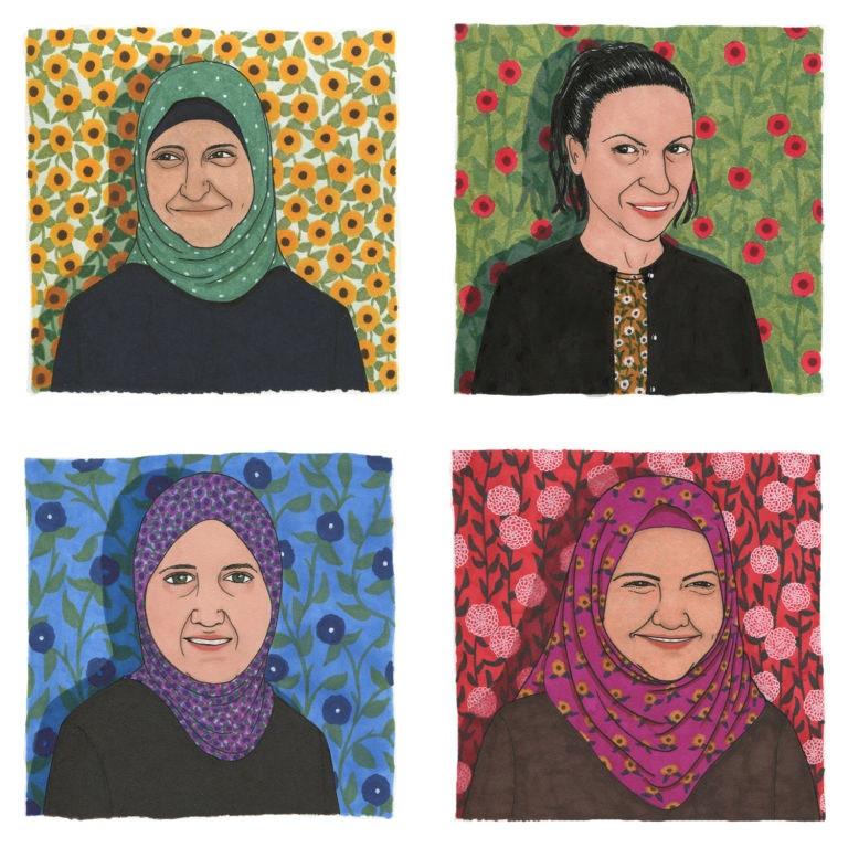 Four Women Who Fled Syria