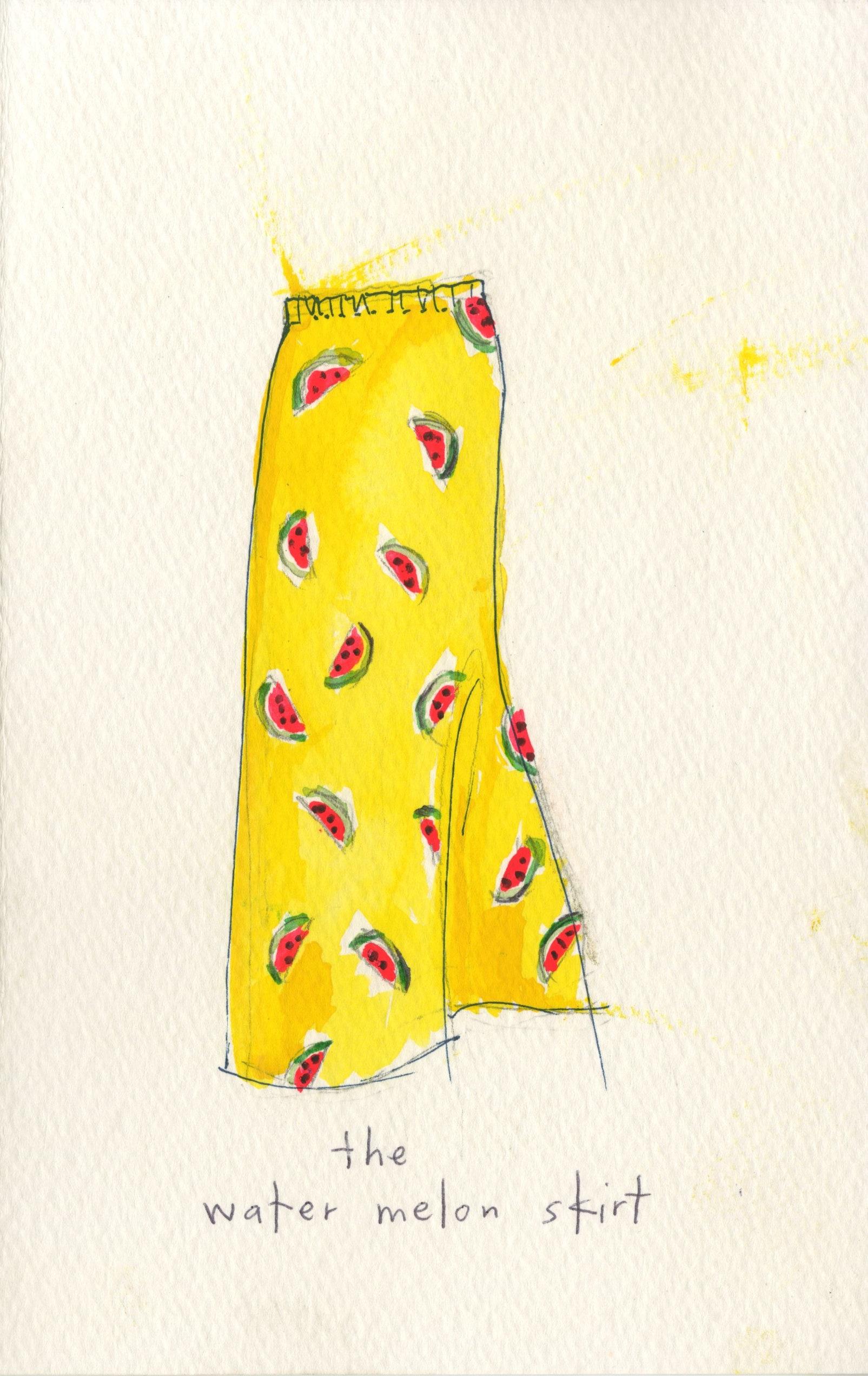The Watermelon Skirt