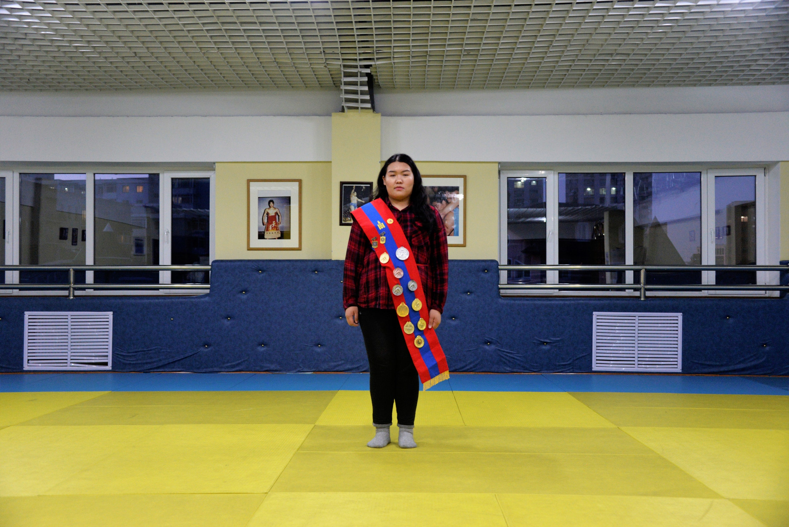 This Mongolian Sumo Queen Wrestles the Patriarchy