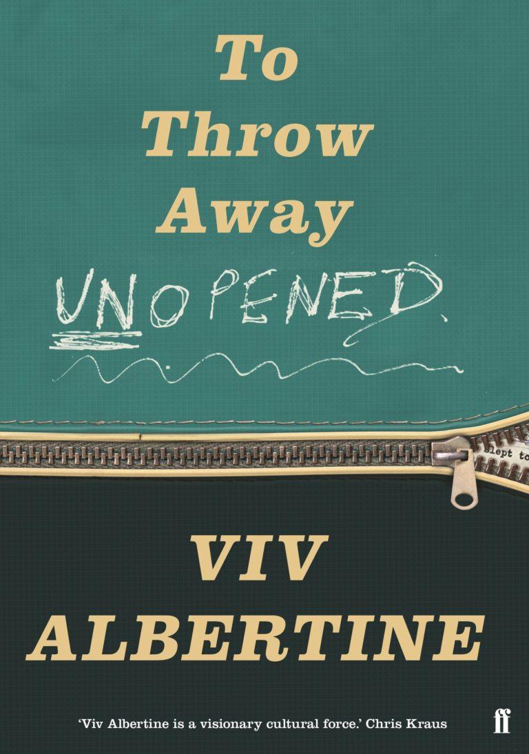 Viv Albertine: 'Men R Idiots'