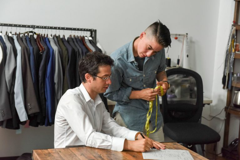 """Meeting in the Middle: How the Accidental """"Queer Tailor"""" Earned His Title"""