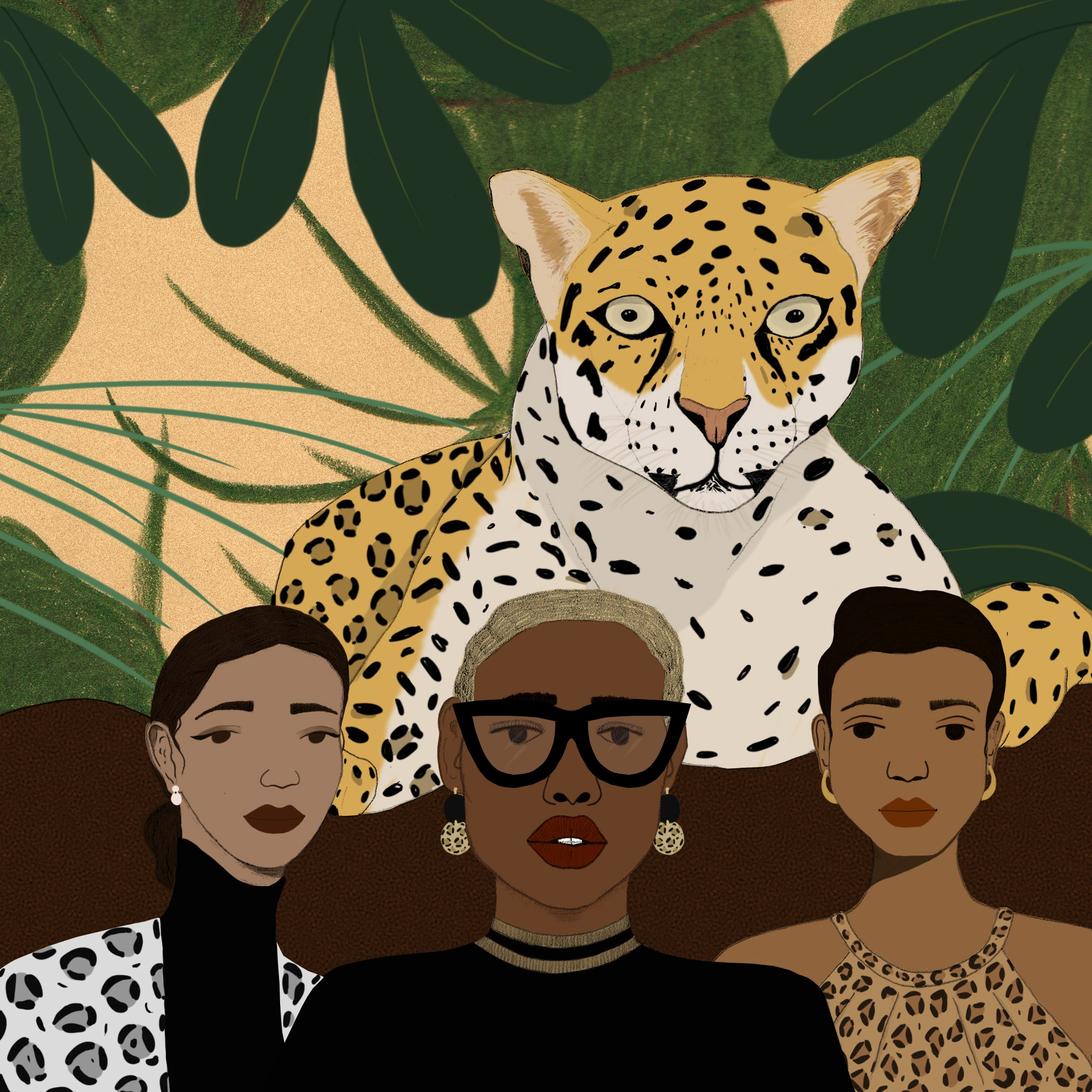 The Many Lives of Leopard Print